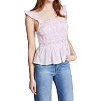 Free People Women's Lace Baby Doll Blouse Tank Top