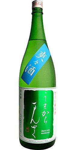 うまからまんさく 爽々酒 旨超辛口 特別純米生原酒 1800ml 日の丸醸造 秋田県