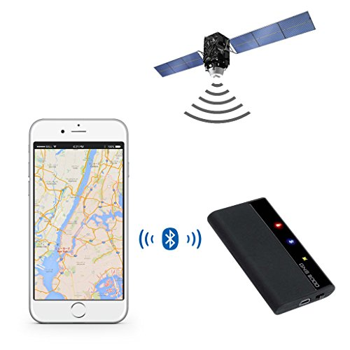 GNS 2000 GPS GLONASS Receiver Bluetooth for iPod, iPhone, iPad and Android 2年保証 GNS 1000 後継機