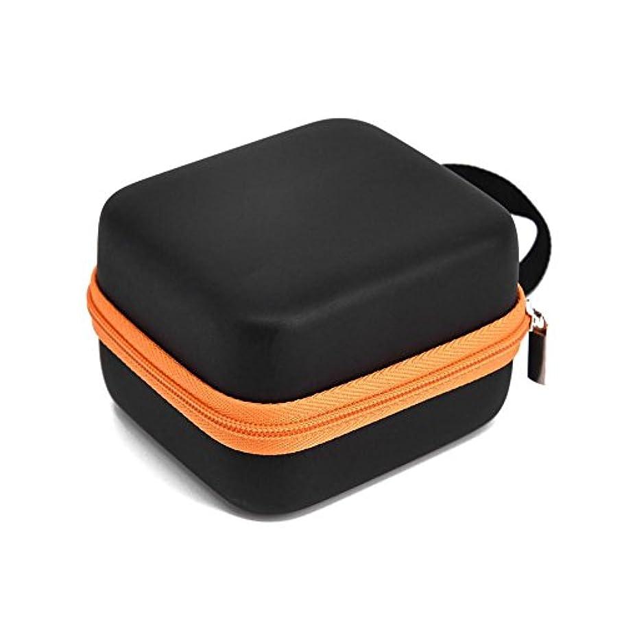 規制する穴ハンサムFarlong 7グリッド 5ML 精油貯蔵袋 エスニックスタイル オイル収納ボックス 人気の 精油 ケース 5色