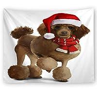 LJFYXZ タペストリー クリスマスのペット 家庭用品 ウォールデコレーション ソファーブランケット ベッドルームリビングルーム さまざまなスタイル (色 : C, サイズ さいず : 230x150cm)