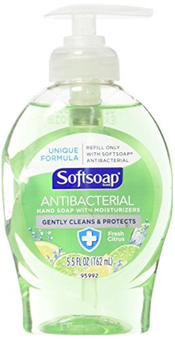 病気マウスピース復活Softsoap Antibacterial Hand Soap with Moisturizers Fresh Citrus 5.5oz. [並行輸入品]