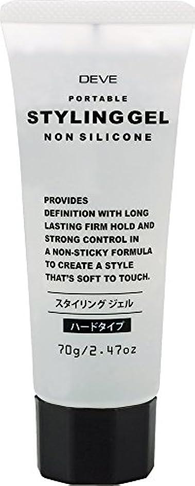 忌避剤容器財政ディブ スタイリングジェル 携帯用 トラベルサイズ 70g