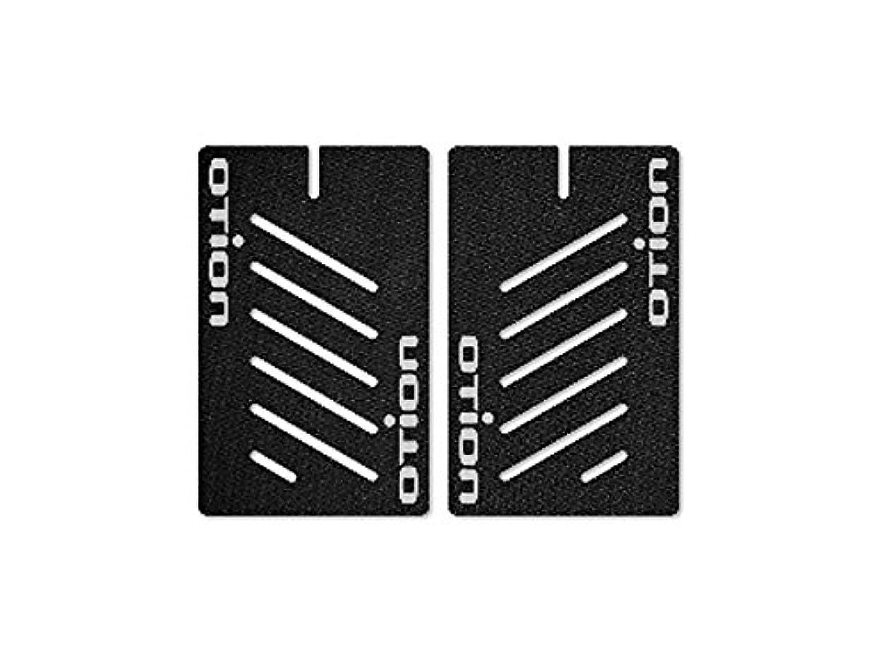幻影石病者OTION (オーション) TT/TRI ハンドルバーグリップ ブラック 11800001