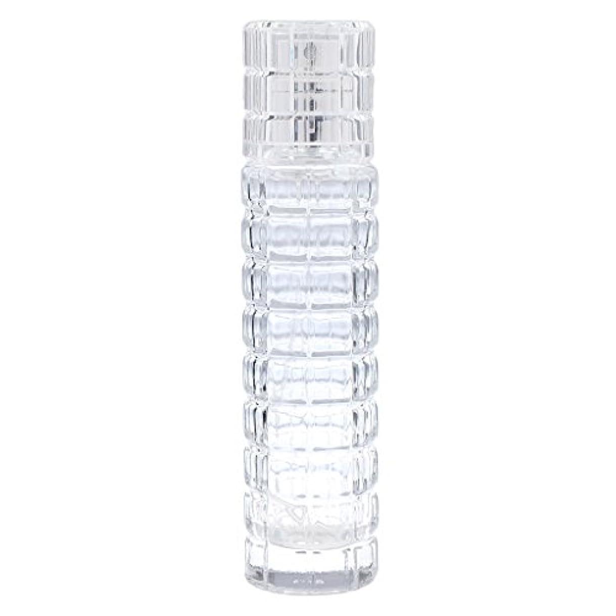 太平洋諸島カード医薬ミニ 詰め替え可能 耐久性 ガラス 空 香水瓶 旅行 香水 スプレーボトル アトマイザー 30ml クリア