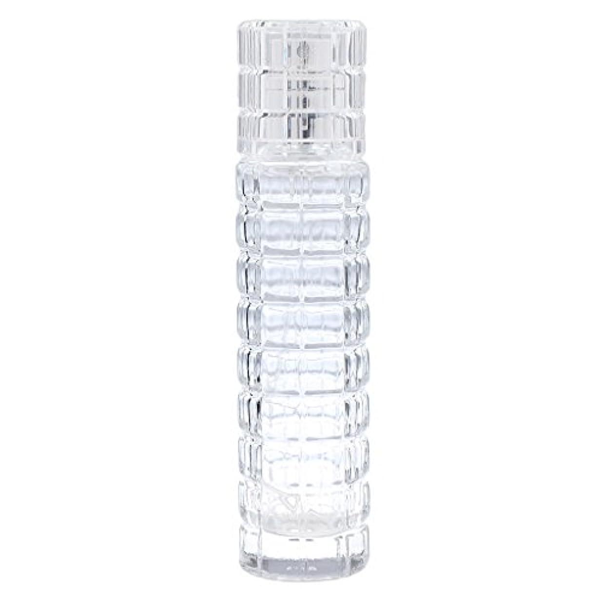 戦争浴親密な小型 詰め替え可能 空 香水ボトル ガラス 香水瓶 アトマイザー スプレー 旅行用 30ml 便利 クリア