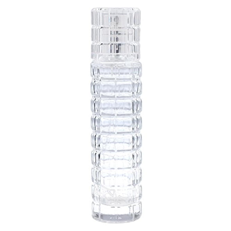 アマチュア細分化する興奮詰め替え可能 空 香水ボトル ガラス 香水瓶 アトマイザー スプレー 旅行用 30ml 便利 クリア