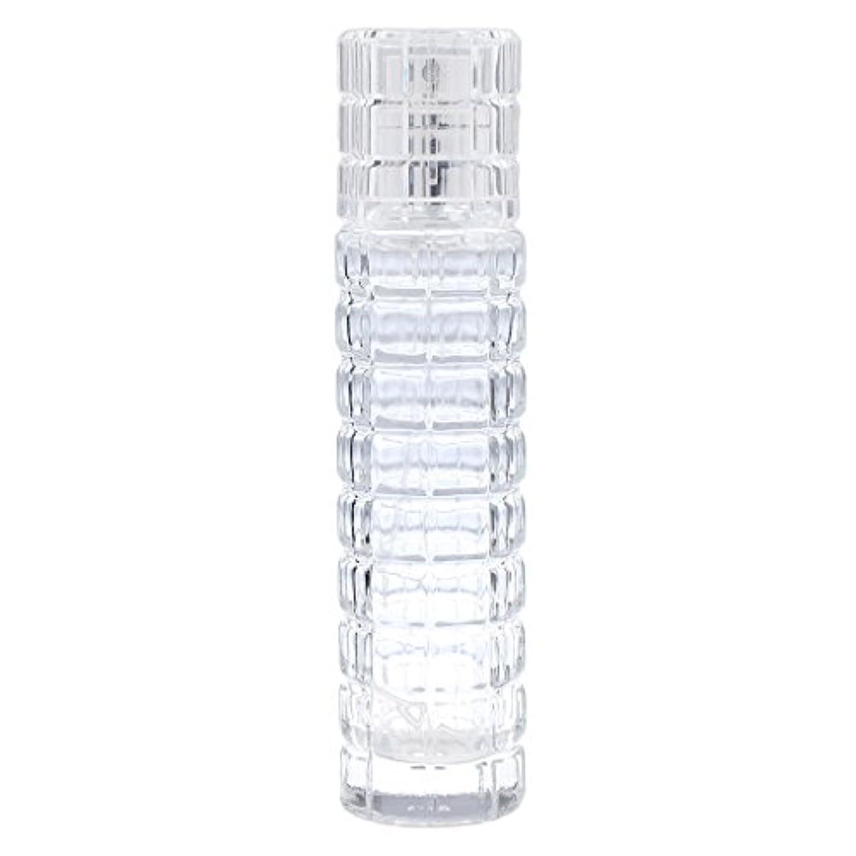 球状歯痛キリマンジャロ小型 詰め替え可能 空 香水ボトル ガラス 香水瓶 アトマイザー スプレー 旅行用 30ml 便利 クリア