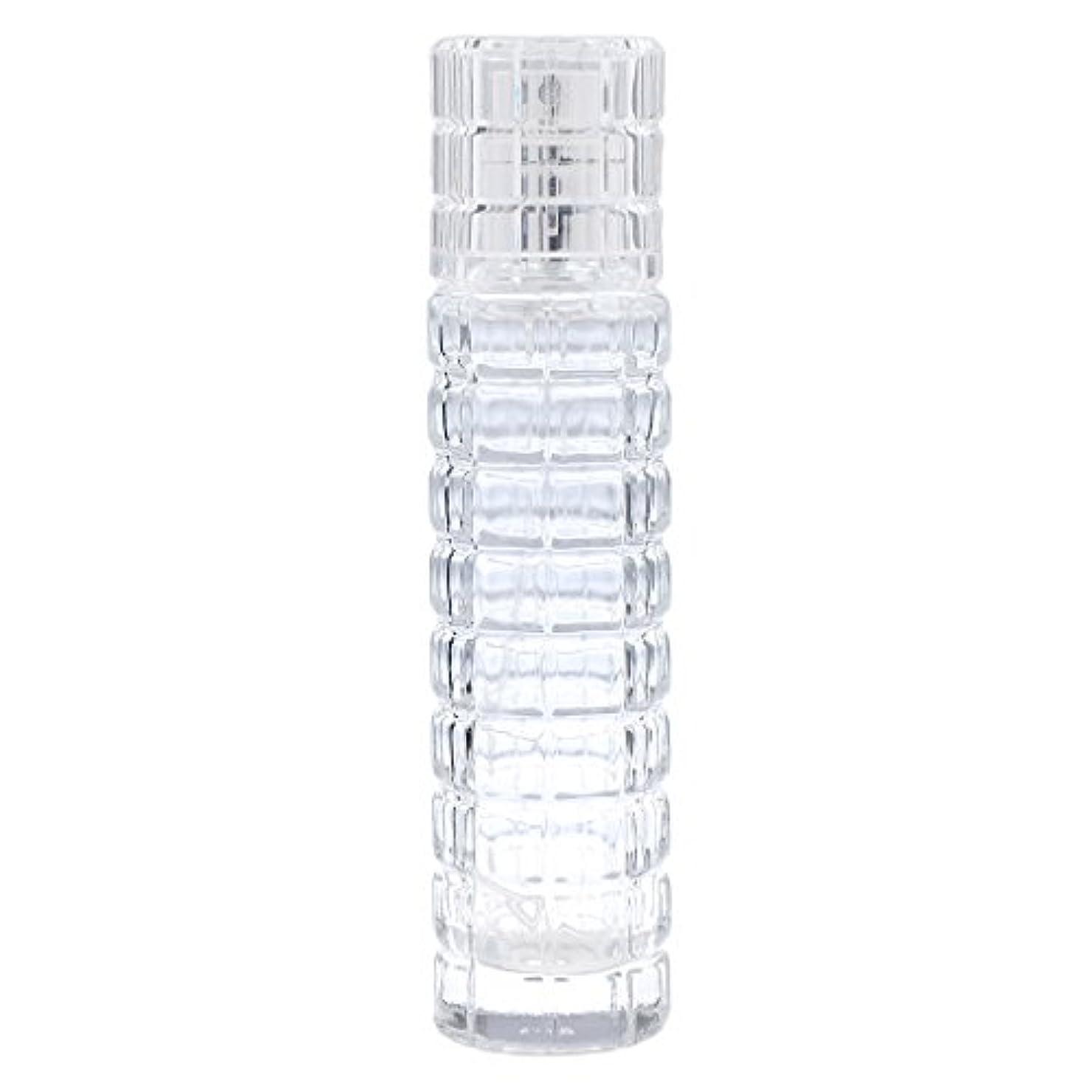 退院人気弾丸ミニ 詰め替え可能 耐久性 ガラス 空 香水瓶 旅行 香水 スプレーボトル アトマイザー 30ml クリア