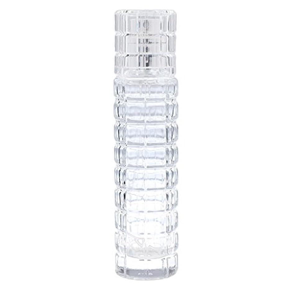 近代化するルーキーお風呂詰め替え可能 空 香水ボトル ガラス 香水瓶 アトマイザー スプレー 旅行用 30ml 便利 クリア