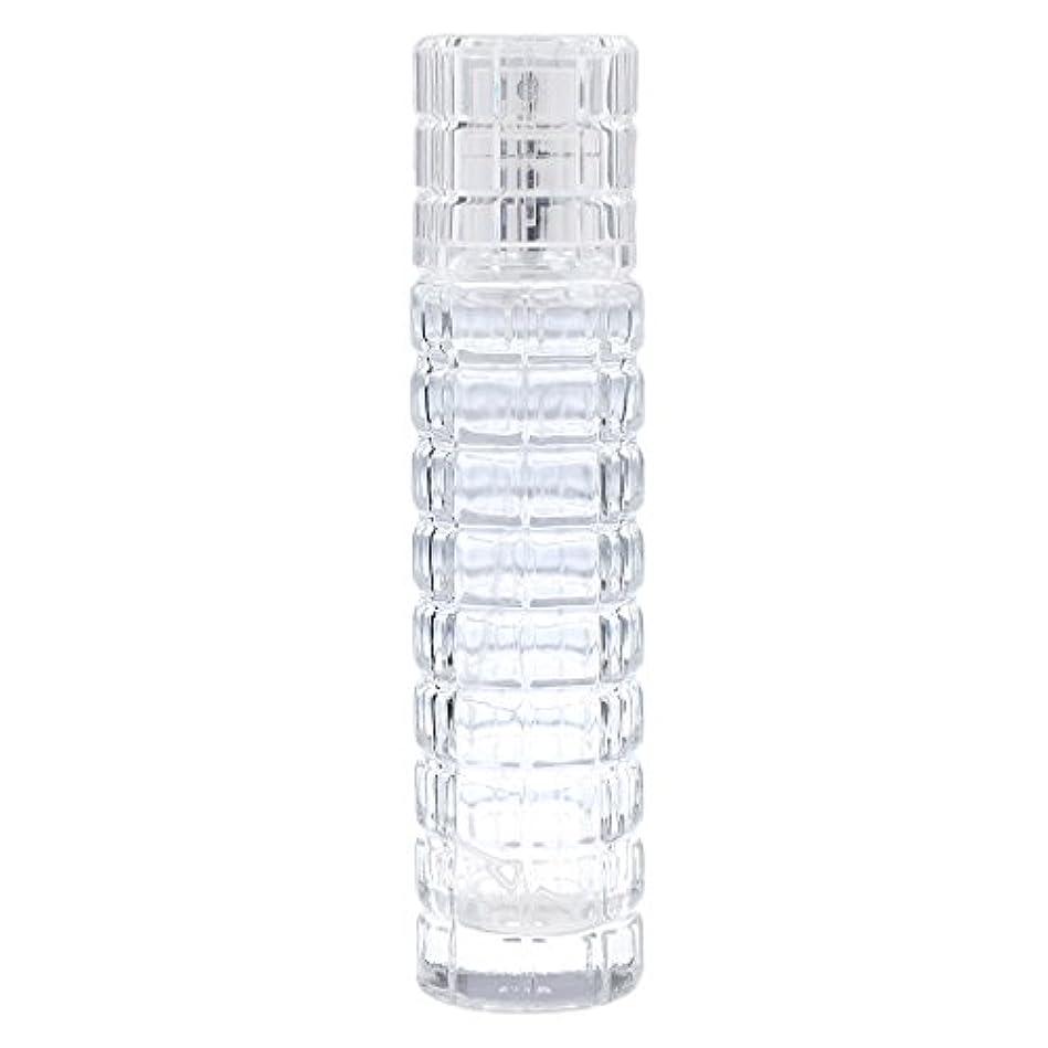 リムやりすぎみぞれ小型 詰め替え可能 空 香水ボトル ガラス 香水瓶 アトマイザー スプレー 旅行用 30ml 便利 クリア