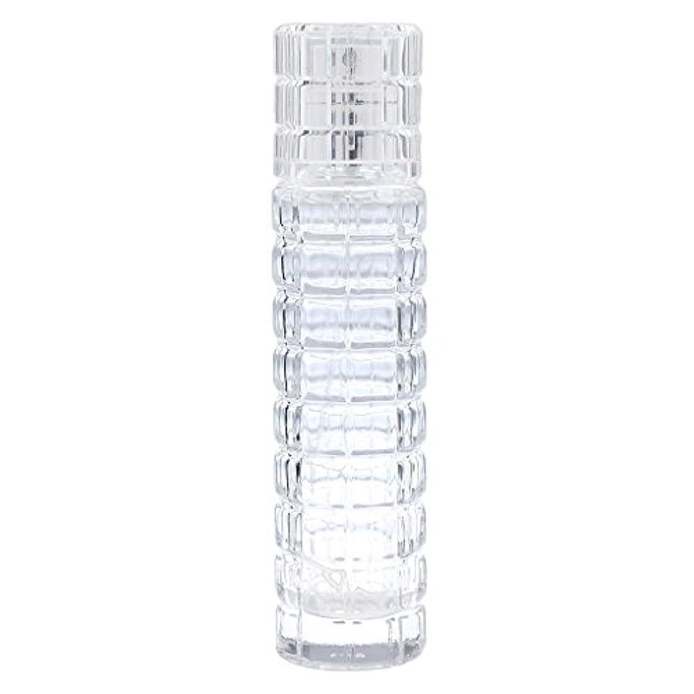 あいまいプロジェクターコンデンサー詰め替え可能 空 香水ボトル ガラス 香水瓶 アトマイザー スプレー 旅行用 30ml 便利 クリア