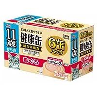 (まとめ)アイシア 11歳からの健康缶 まぐろ40g×6P 【猫用・フード】【ペット用品】【×12セット】 ds-1626786