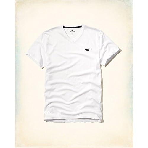 Hollister Co. ホリスター Must-Have V Neck T-Shirt [COLOR: ホワイト ][SIZE: M ] [並行輸入品]