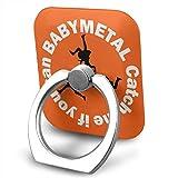 Babymetal ベビーメタル スマホリング 携帯リング スタンド バンカーリング ホールドリング スマートフォン タブレットPCを指1本で保持 落下防止 スタンド 360°回転 強吸着力 薄型 全機種対応