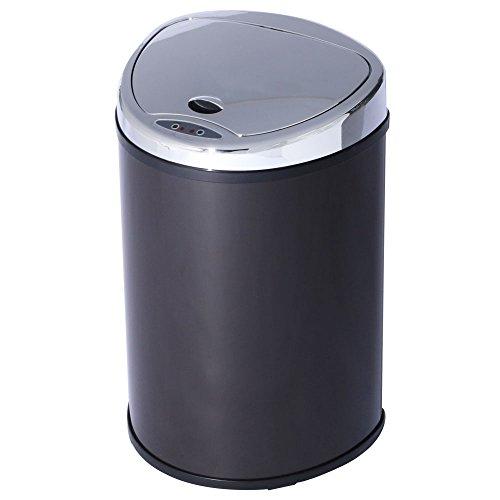 アイリスプラザ ゴミ箱 自動 開閉 センサー付 48L ブラウン -