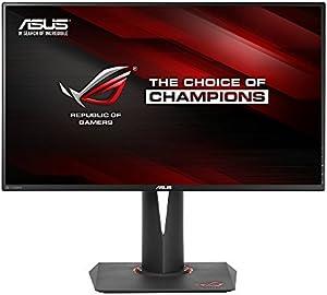 ASUS ゲーミングモニター ディスプレイPG279Q 27型 リフレッシュレート165Hz IPS WQHD SRGB100% フリッカーフリー ブルーライト軽減 GSYNC DP HDMI USB