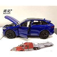 WELLY 1/24 スケールダイキャスト金属車モデルおもちゃジャガー F ペース SUV 車モデルグッズギフト?子供?コレクション