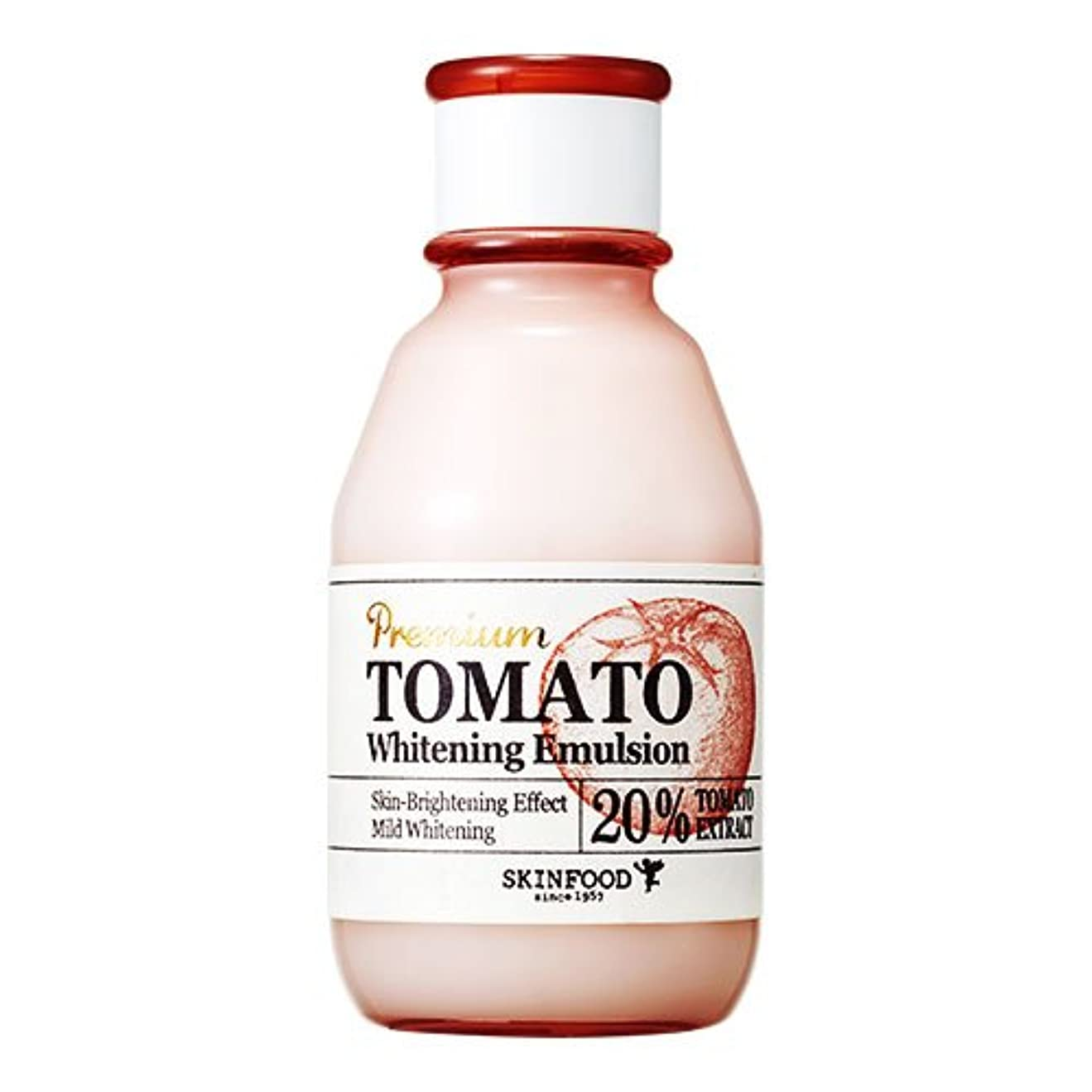 固体同種のうめき[スキンフード] SKINFOOD プレミアムトマトホワイトニングエマルジョン Premium Tomato Whitening Emulsion (海外直送品) [並行輸入品]