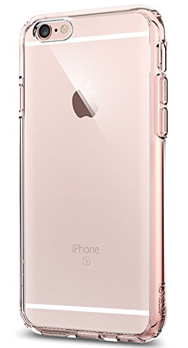 SpigeniPhone6S ケース / iPhone6 ケース ウルトラ・ハイブリッド 米軍MIL規格取得 (ローズ・クリスタル SGP11722)