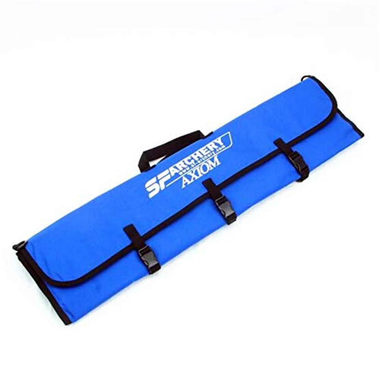 RaiFu ボウ バッグ ポータブル 折り畳み式 リカー ボウ ケース アローシャー アーチェリー ボウバッグ キャリング シューティング ハンティング リバー ブ