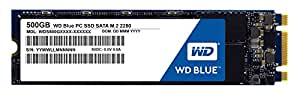 WD SSD 内蔵SSD M.2 2280 500GB WD Blue WDS500G1B0B/SATA3.0/3年保証