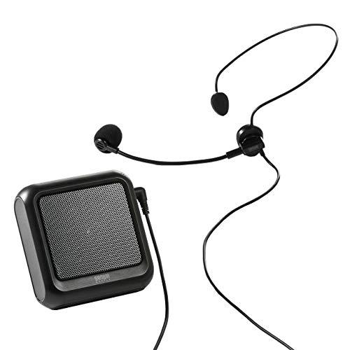 サンワダイレクト『ハンズフリー拡声器(400-SP076)』