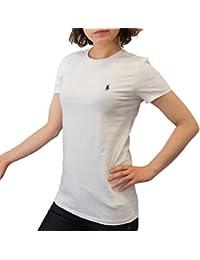 (ポロ ラルフローレン) POLO Ralph Lauren 半袖 Tシャツ ワンポイント レディース クルーネック [並行輸入品]