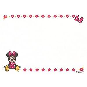 ミノダ お名前ゼッケン【名入れなし】ミニーマウス D01Z0389