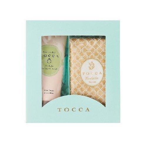 TOCCAトッカ ハンドクリーム&ソープバー BOXギフト ジュリエッタの香り