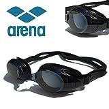 arena(アリーナ) くもりどめ・UV加工 度付 スイミングゴーグル+専用パーツセット AGL-4500×2-SET (-3.00) 近視用 フィットネス 競泳