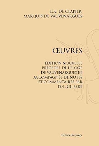 Oeuvres. avec Notes et Commentaires par d.-l. Gilbert. (1857)