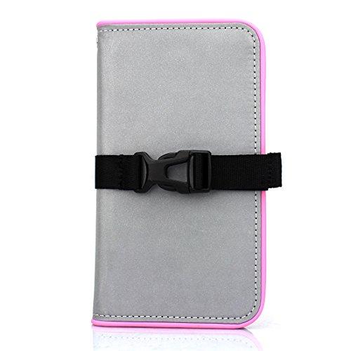 スマホカバー Fantastick Diary Reflector (Pink) for iPhone7 アイフォン7 手帳型ケース