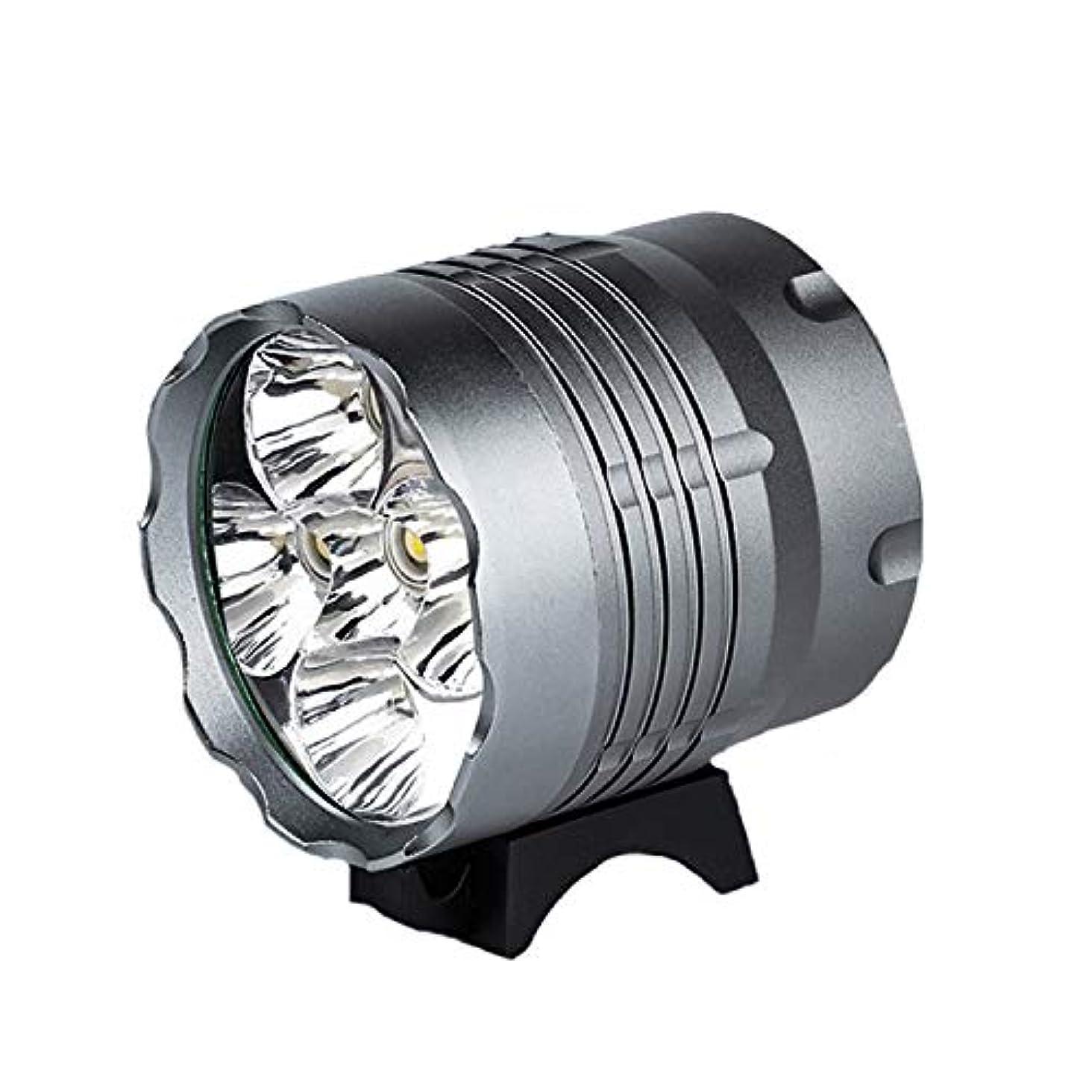 聡明北東物質マウンテンバイクのヘッドライト、T6グレア懐中電灯、防水と耐衝撃性、ナイトライディング用品、5 T6