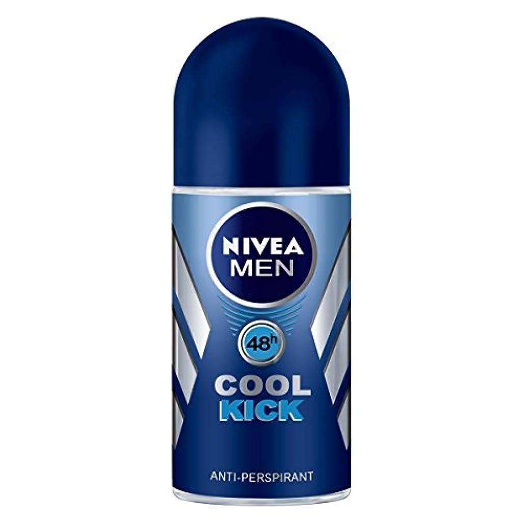 納屋牽引拡大するNIVEA Men ニベア メン ブラジル ロールオンデオドラント?Cool Kick クールキック 50ml