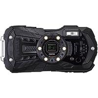 PENTAX 防水デジタルカメラ Optio WG-2 (オールブラック) 約1600万画素 CALSモード OPTIOWG-2BK