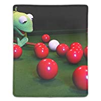 マウスパッド ノートパソコン オフィス用 ゲーム用 レッドビリヤード (180*220*3mm)防塵 耐久性 滑り止め 耐用