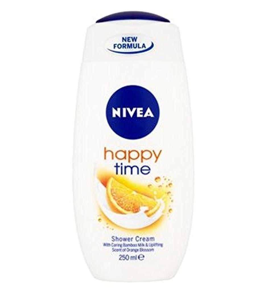 世界ケニアエネルギーニベア幸せな時間シャワークリーム250ミリリットル (Nivea) (x2) - NIVEA Happy Time Shower Cream 250ml (Pack of 2) [並行輸入品]