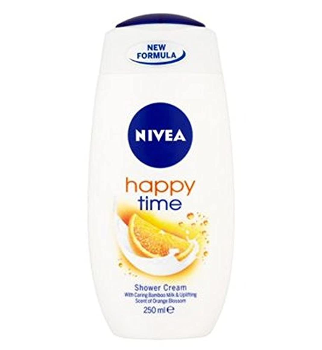 政治家アイデア無駄なニベア幸せな時間シャワークリーム250ミリリットル (Nivea) (x2) - NIVEA Happy Time Shower Cream 250ml (Pack of 2) [並行輸入品]