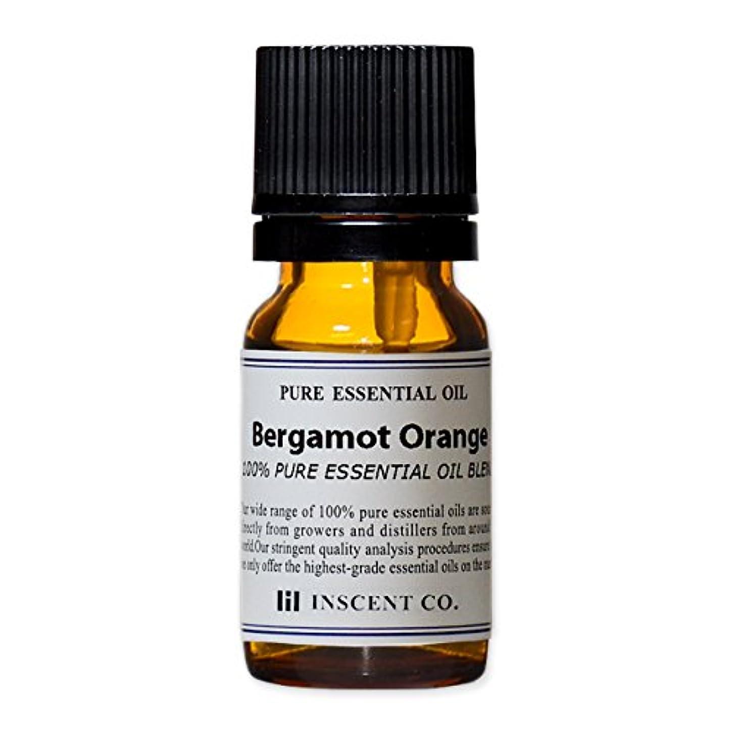 いじめっ子方向付属品アロマ ブレンド ベルガモットオレンジ 10ml インセント アロマオイル