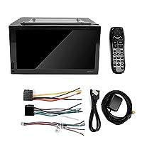 車のDVDプレーヤー、6.95インチの大画面1080P Wifi車のBluetooth GPS DVDナビゲーターラジオプレーヤーAndroid 6.0