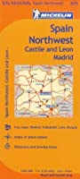 Spain Northwest: Castile and Leon / Madrid (Michelin Regional Maps, No. 575) by Michelin(2018-02-15)
