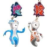 公式2012ロンドンオリンピックグッズ限定品 携帯ストラップウェンロックとマンデビルセット 並行輸入品の画像