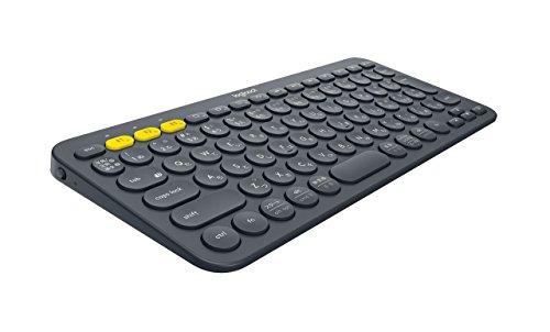 Logicool ロジクール K380 Bluetooth マルチデバイス キーボード (マルチOS: Windows, Mac, iOS, Android, Chrome OS 対応) ブラック K380BK