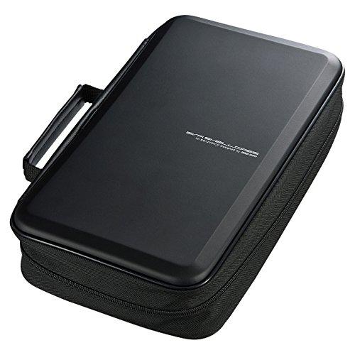 ブルーレイディスク対応セミハードケース 104枚収納・ブラック FCD-WLBD104BK 1個