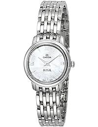 [オメガ]OMEGA 腕時計 デ・ビル ホワイトパール文字盤 424.10.24.60.05.001 レディース 【並行輸入品】