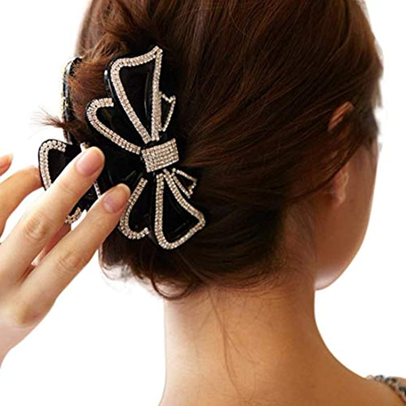 親愛なコレクション厚い1 ヘアクリップ ガールズ髪留めレディース ヘアアクセサリー リボン 人気 バレンタインデー 手芸