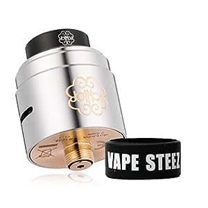 電子タバコ vape アトマイザー dotmod dot RDA 24mm V1.5 BF対応 ドットモッド BAND付き(Silver)