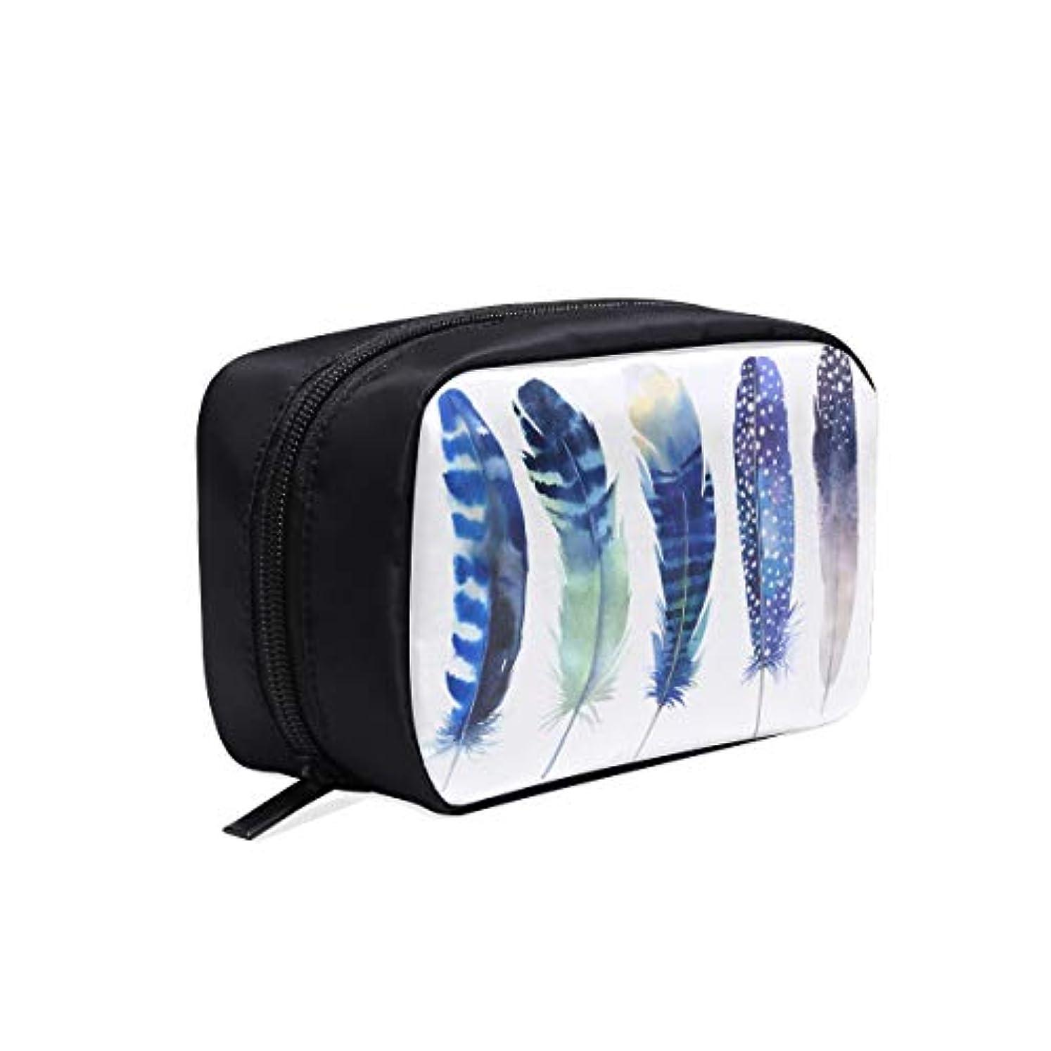 協同ヒール情熱KWESG メイクポーチ チキンフェザー ボックス コスメ収納 化粧品収納ケース 大容量 収納 化粧品入れ 化粧バッグ 旅行用 メイクブラシバッグ 化粧箱 持ち運び便利 プロ用