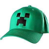 MINECRAFT(マインクラフト) クリーパー・グリーン・キャップ 帽子 S/M
